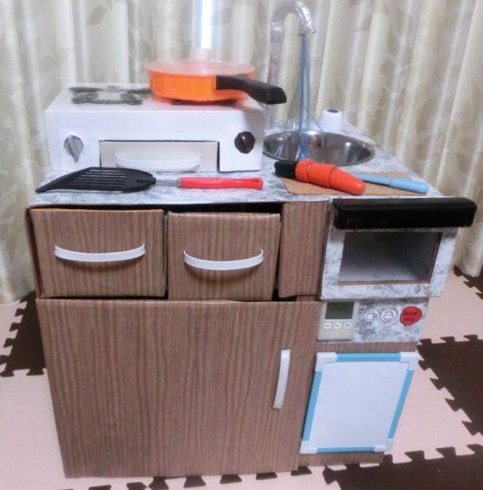 手作りままごとキッチン